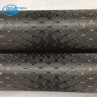 Hexagon carbon fiber cloth Customized honey comb carbon fibre fabric