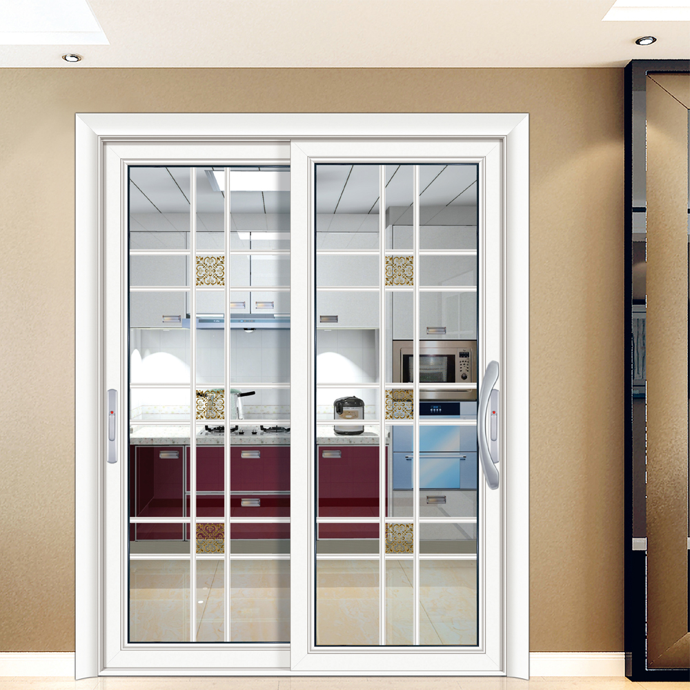 Hs Jy8033 Bi Fold Screen Glass Partition Closet Door Buy Glass