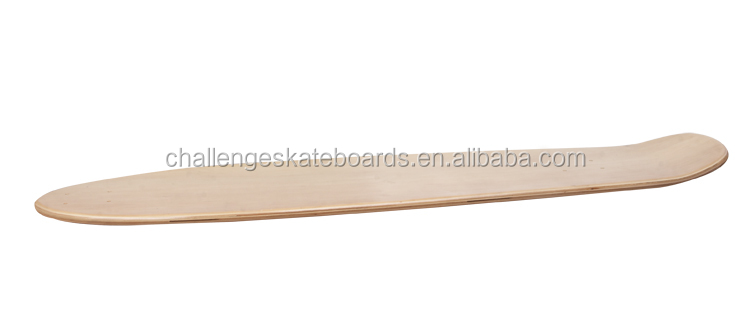 "36""Chinese maple longboard deck"