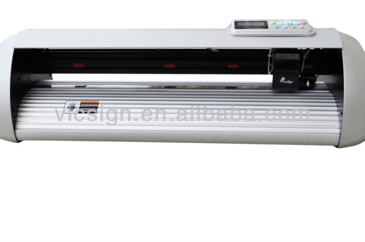 Economic !! Price of Plotter Printing Machine China Vicsign hot sale art sign reflective film cutting plotter machine