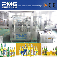 High quality small glass bottle beer filling machine / micro brewing equipment / beer manufacturing machine