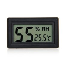 Digital LCD home room household thermometer Reptile temperature hygrometer