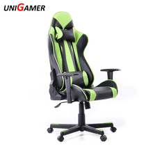 UNIGAMER modern alibaba express computer swivel racing gaming chair foot rest