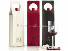 PU Leather Wine Carrier for Single Wine Bottle