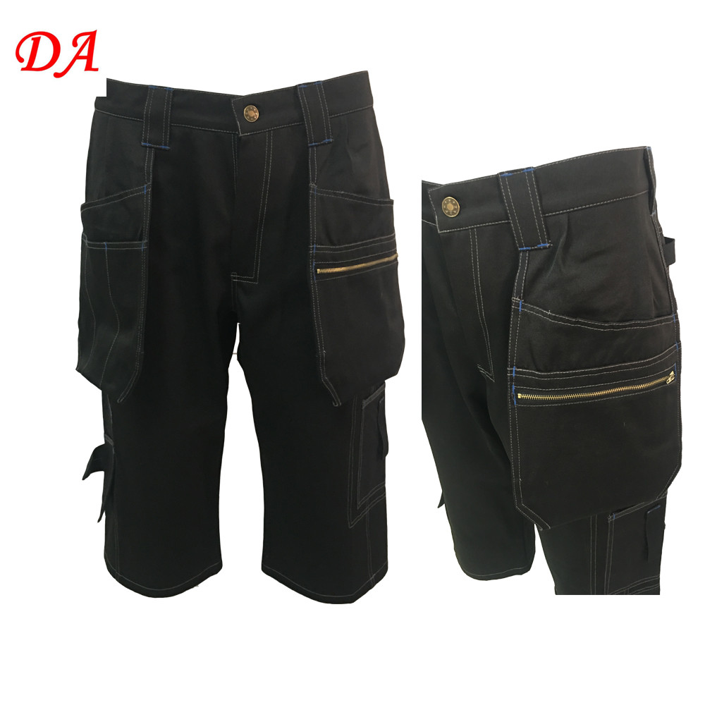 Bulk mens 3/4 three quarter cargo shorts with cordura