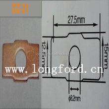 Hot!!! China electrical pin automotive connector copper connecting link contact spring sheets