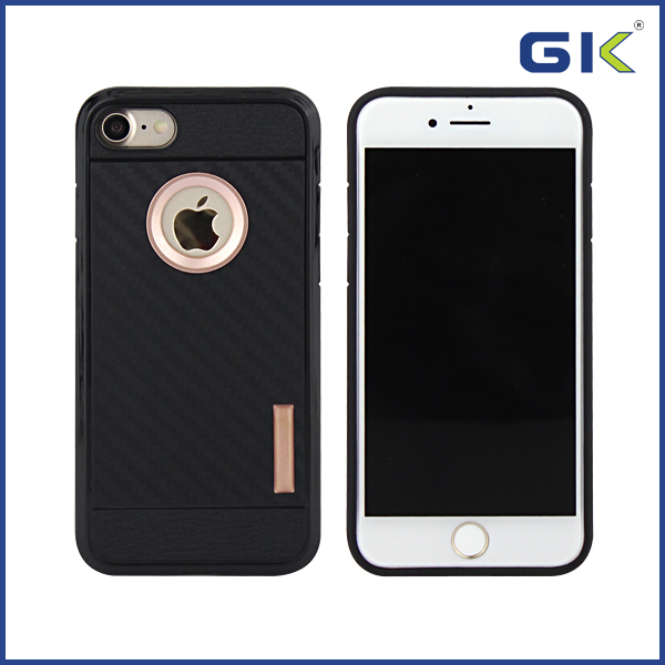[GGIT] Carbon Fiber Soft TPU Cell Phone Case For IPhone 7 Cover