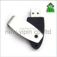 New Yipin Swivel USB Flash Drive Logo Customized Mini Portable Hard Disk