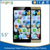 "smartphone 4GLTE made in china 5.5"" inch big screen free games download Super fast speed of mobile phone"