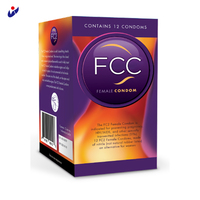 Super natrual silicone female condom with different colors