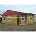 Low cost luxury prefabricated house villa for sale