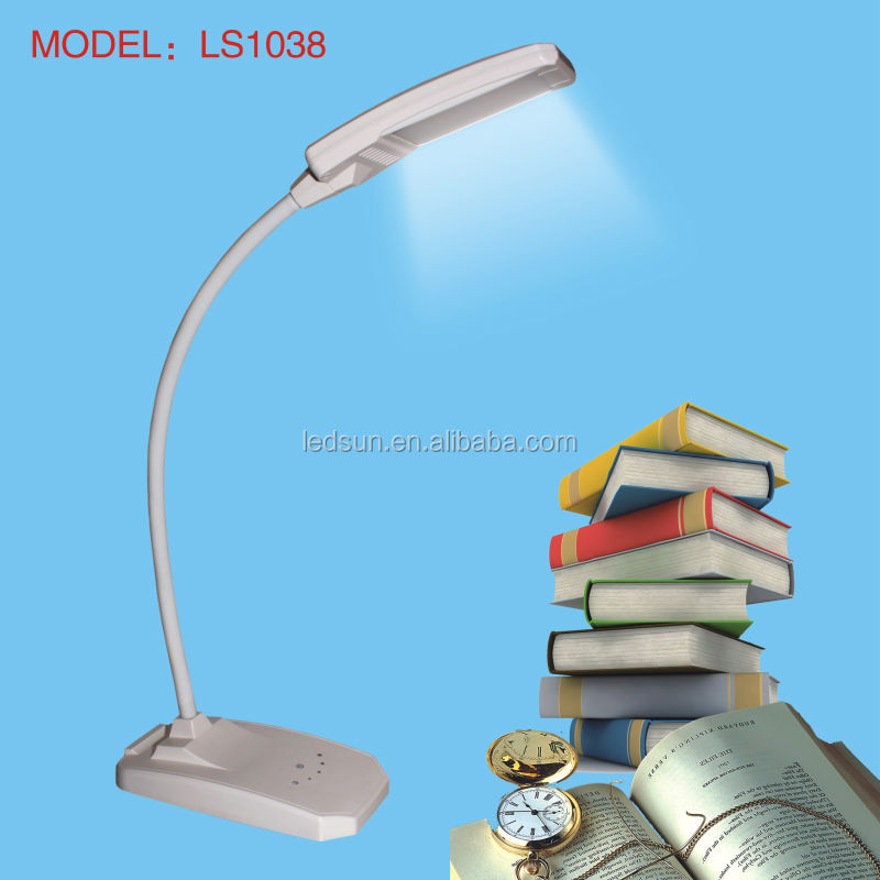 Modern Touch Dimmable LED Desk Lamp with Gooseneck Flexible Soft Arm
