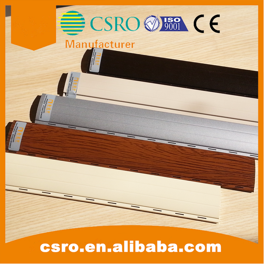 Aluminum remote control roller shutter with 45mm bars