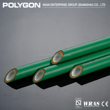 Supply Hot And Cold Water Polygon Plastic Coated Steel Pipe