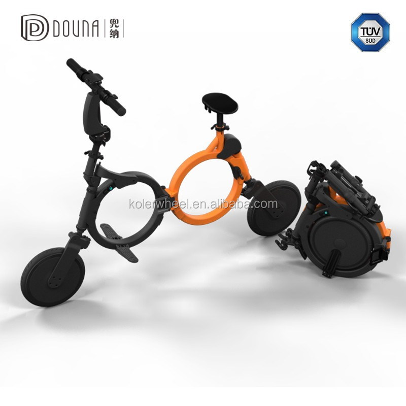 IP 54 water proof grade electric bike with max speed 20km per hour