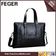 big volume top grain cowhide bag trendy oem cow leather handbag for men