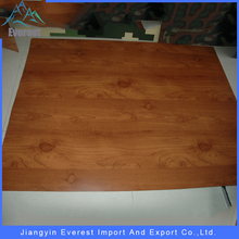 EVEREST High quality wooden color steel plate wooden colored plate length within 1250