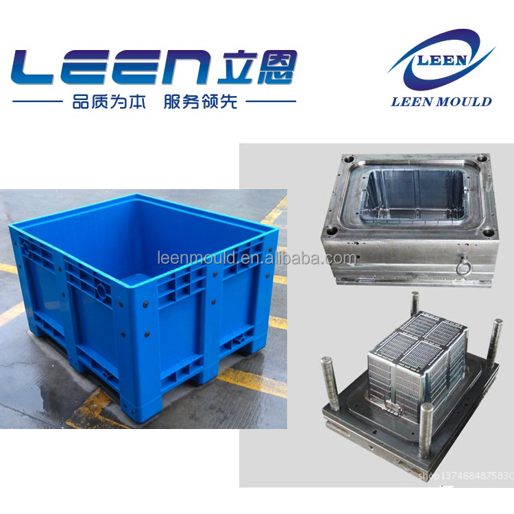 China Experienced Injection Plastic Crate Mold Maker