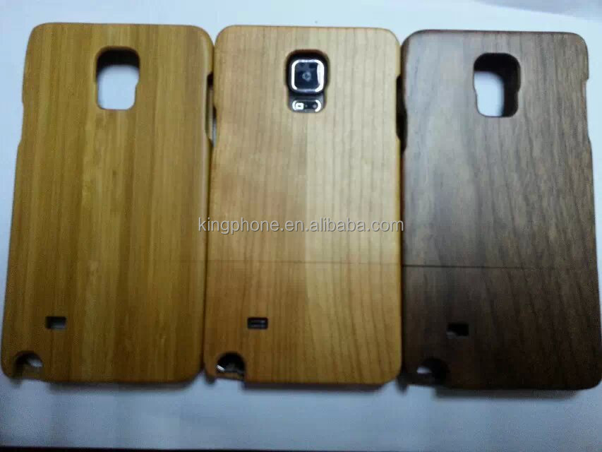 for samsung note 4 new arrival mobile phone housing, natural wood cover for samsung note 4