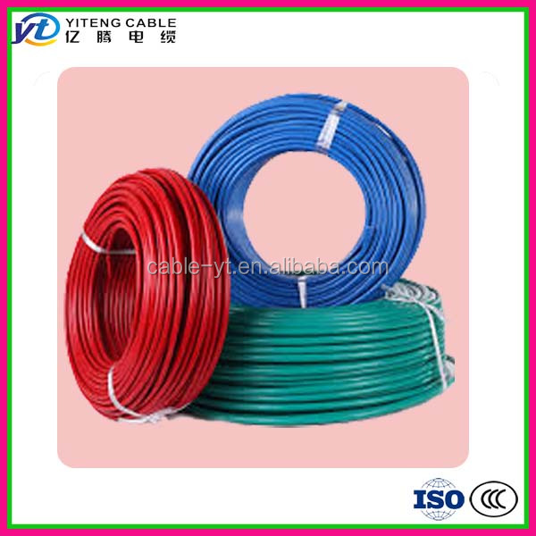 XHHW / HFFR insulated 70 / 90o C degree centigrade copper conductor 250 kcmil house wiring wire
