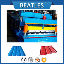 Single Layer Colored Roof Tile forming machine roof and wall panels machine