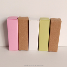 Wholesales kraft packaging custom color kraft box flat shipping