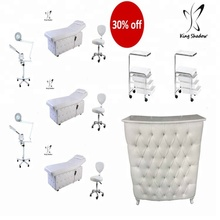diamond design manicure massage bed salon furniture set