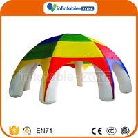 Best quality new style halloween inflatable tent 2016 toy inflatable advertising tent