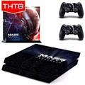 THTB Skin Cover Sticker For PS4 Sony Playstation 4