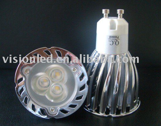 High Power LED Spotlight 3x2W GU10