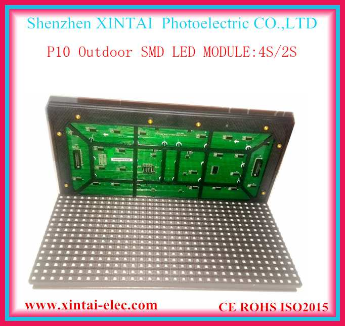 P10 outdoor rgb smd full color led modules