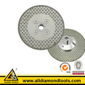 Electroplated Marble Cutting and Grinding Blade with Flange