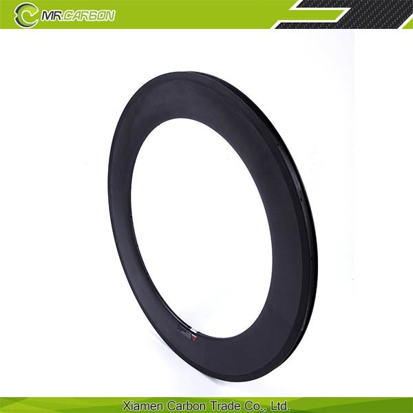 hot selling carbon fiber bike rims 88mm carbon rims for sale bicycle rims with 36 spokes 23mm width basalt braking surface
