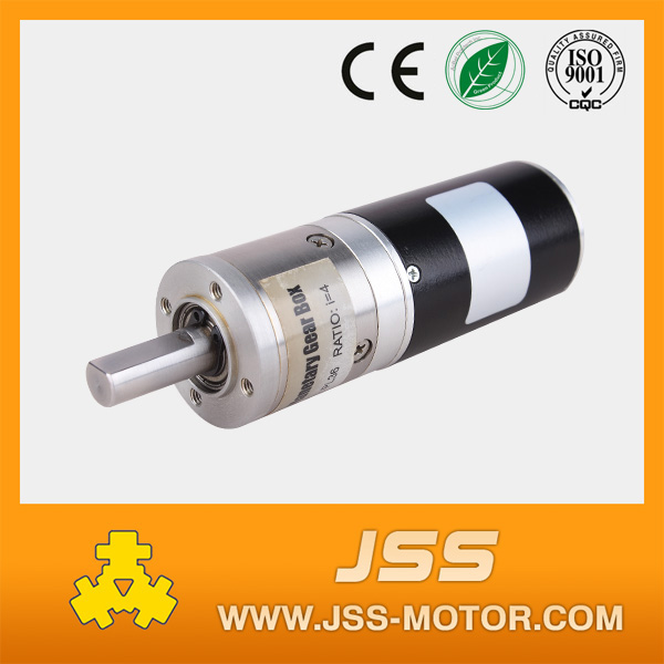 High torque low rpm dc brushless gear motor with brushless dc motor controller
