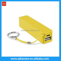 Factory supply portable power bank, custom powerbank 2600mah , logo printed charger power bank for promotion gifts