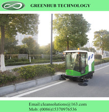 Power driveway parking lot sweeper for sale