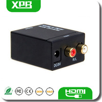 Analog TV Box Support Coaxial or Toslink Output