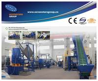 plastic bags recycling plant/pp woven bag recycling machine