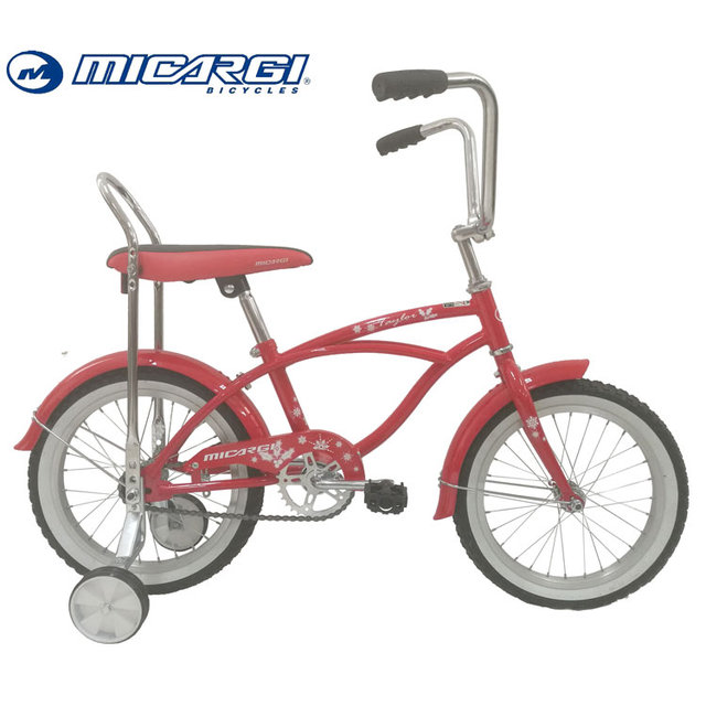 Micargi 16 inch banana seat bicycle TAYLOR children lowrider bike