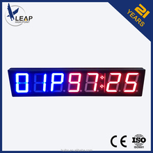 Interval led countdown timer wall clock