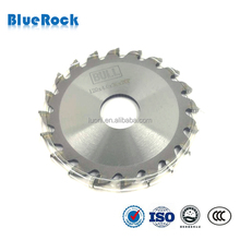 Solid carbide tipped saw blades for steel tube cutting