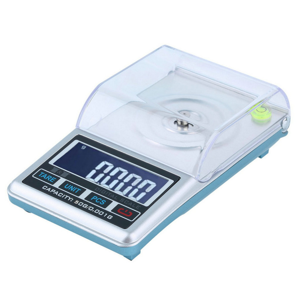 High Quality New LCD Digital Scale 0.001g 50g Pocket Jewelry, Diamond Digital Weight Scale High Precision Measure New Arrival
