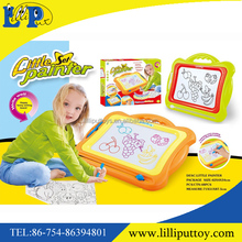 Educational kids magnetic drawing board toy