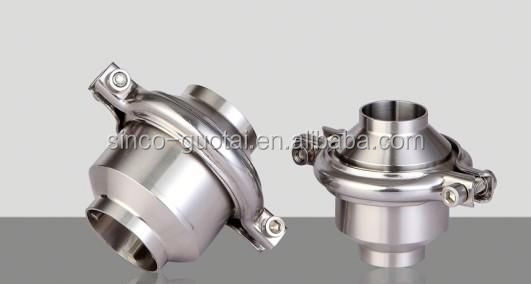 stainless steel pipe fitting union check valve