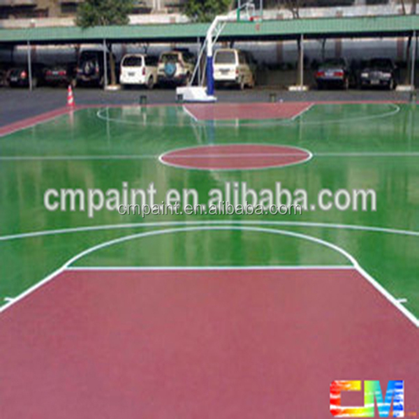 epoxy floor primer-basketball court floor paint floor paint for workshop