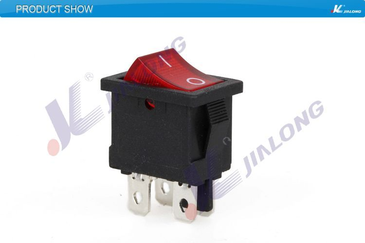 KCD1-104NC ON OFF electrical safety rocker switch