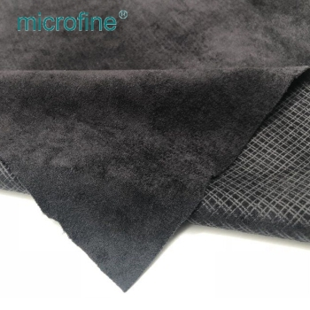 Elegant Durable Korea Linen Velvet 1500D Polyester Industrial Fireproof Fabric For Sofa