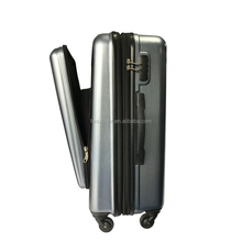 High Quality Business ABS Travel Suitcase With Front Laptop Pocket