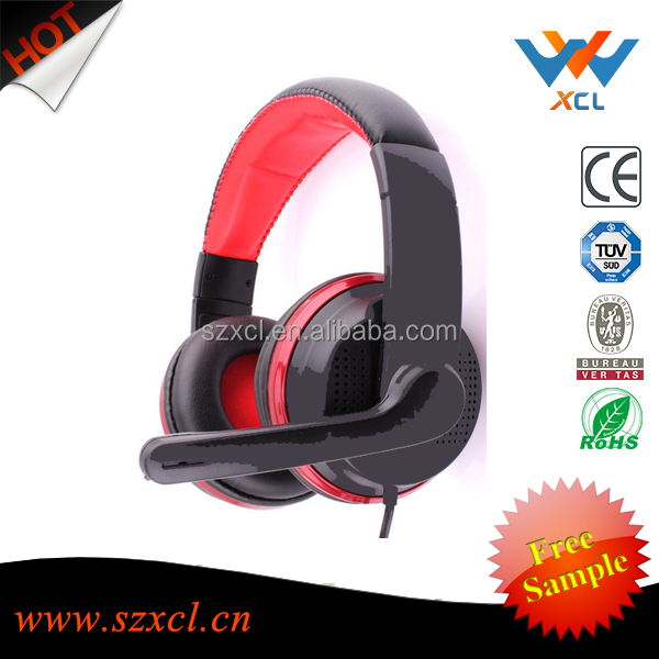 2016 new model stereo usb headset with microphone for computer
