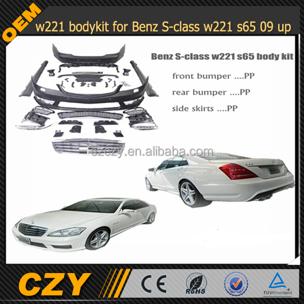 W221 body kit for Mercedes S Class w221 S65